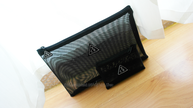 Mesh Pouch - also comes with a cute pouch to fit business cards/trinkets/coins